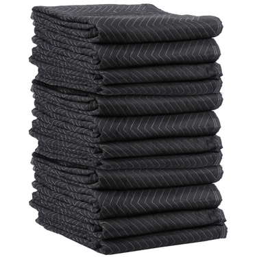 Moving Blankets- Performance Mover 12-Pack, 75-80 lbs./dozen