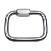 Square Quick Link SS T316 - 3-1/2