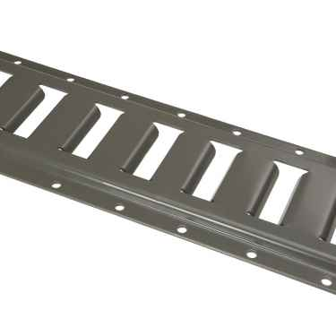 2' Horizontal E-Track- Gray Painted- 4-Pack