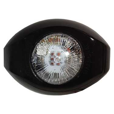 Star Warning Systems LED Mini-Comet Lighthead - Clear