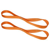 Motorcycle Handlebar Strap (Pair) Orange image
