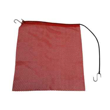 Red Jersey Mesh Safety Flag w/ 35