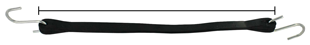 Display Rubber Tarp Strap Length