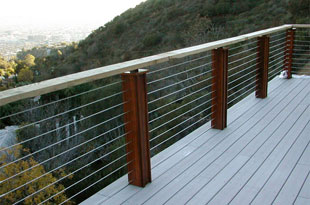 Stainless Steel Cable Railing-Cable Railing Systems-Cable Deck Railing