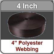 4 Inch Polyester Webbing