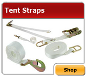 Tent Straps and Stakes