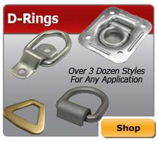 D-ring Tie Downs