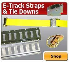 E-track Straps & Tie Downs